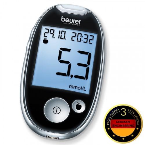 Glukometr Beurer GL 44 černý