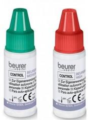 Beurer 457.09 kontrolní roztok ke glukometru Beurer GL 30 / 32 / 34, BGL 40 / 60 (2x 4ml)