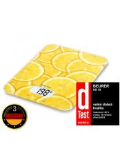 Beurer KS 19 lemon - kuchyňská váha