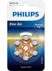 Philips baterie do naslouchadla 6ks (ZA13B6A/10)
