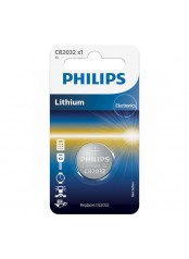 Philips baterie LITHIUM 1ks (CR2032/01B, CR 2032, 3,00V)