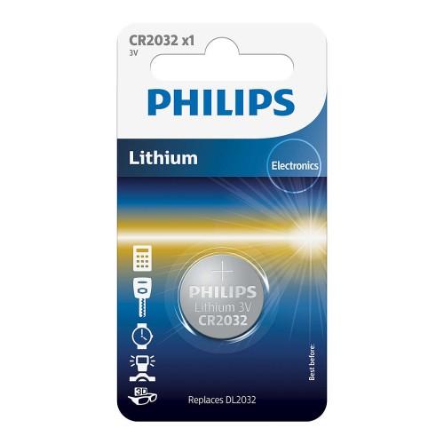 Philips baterie LITHIUM 1ks (CR2032/01B, CR 2032, 3,00V)