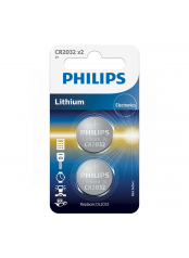 Philips baterie LITHIUM 2ks (CR2032/01B, CR 2032, 3,00V)