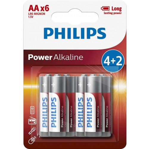 Baterie Philips POWERlife AA 6ks