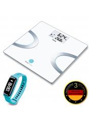Beurer BF 710 BT diagnostická váha + AS 81 tyrkysový sensor aktivity